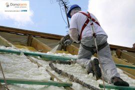 ocieplanie poddasza ocieplanie dachu ocieplanie podłogi izolacje natryskowe
